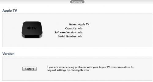 Apple TV i iTunes