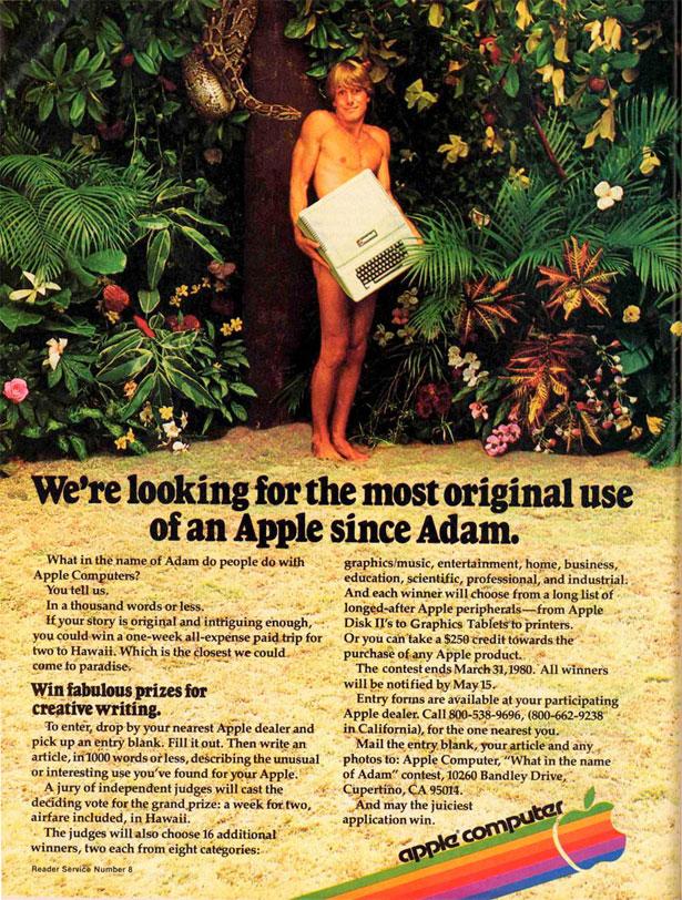 Apple reklame
