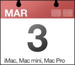 Apple lanserer nye maskiner i dag?