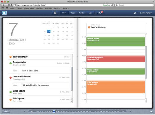 MobileMe kalender