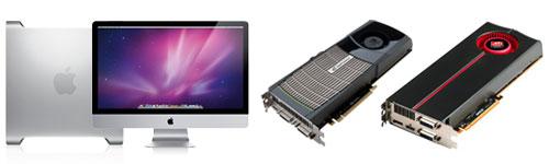 Mac Pro og iMac med nye skjermkort?