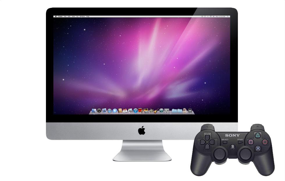 Kontroller Macen med PS3 kontrolleren