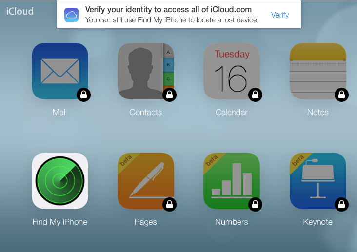 45b3e9ff Apple slår på totrinnsverifisering på iCloud