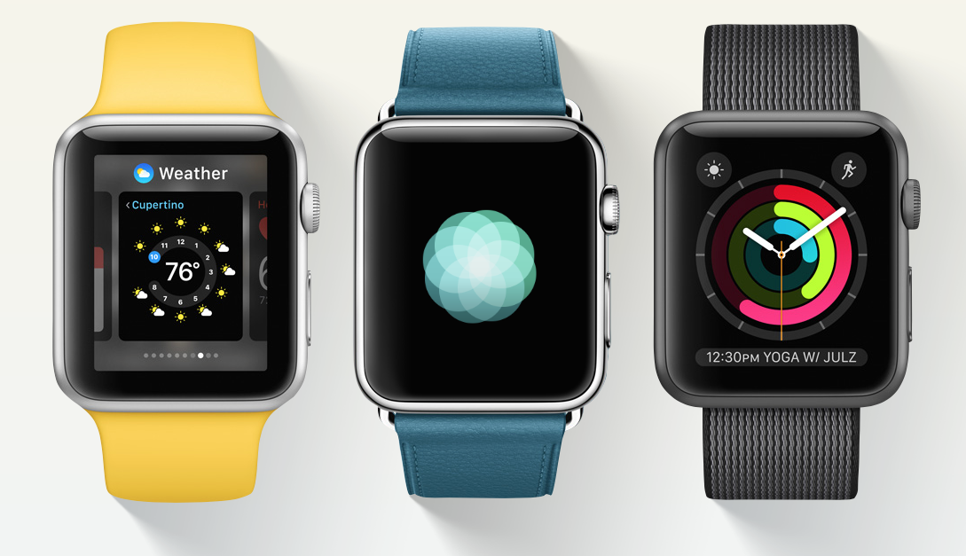 Apple lanserer watchOS 3