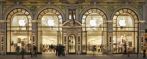 Apple åpner butikk i Stockholm