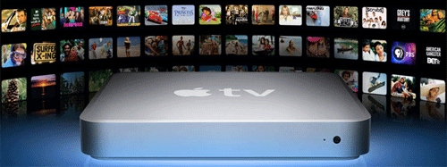 Apple TV DVD filmer
