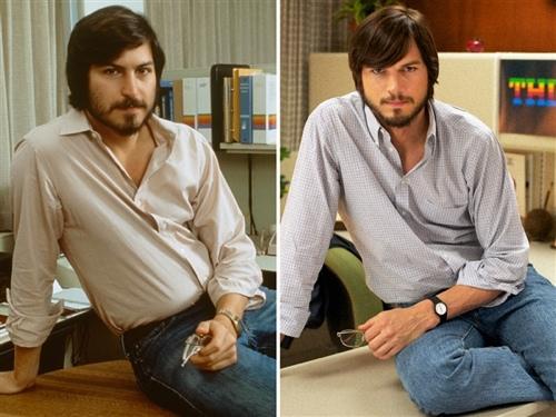Asthon Kutcher vs. Steve Jobs