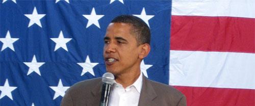 Steve Jobs støtter Barack Obama