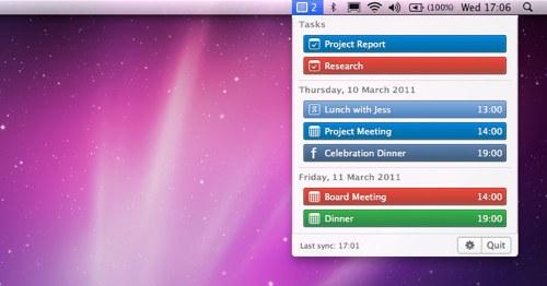 Calendarbar