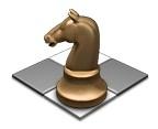 Spill sjakk med venner over Game Center