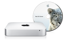 Retail Mac Mini med Snow Leopard