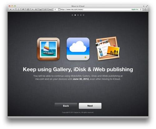 Apple klargjør MobileMe til iCloud