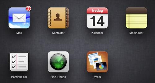 Apple oppdaterer iCloud