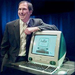 iMac og Steve Jobs