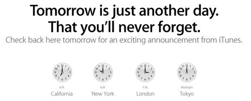iTunes i morgen