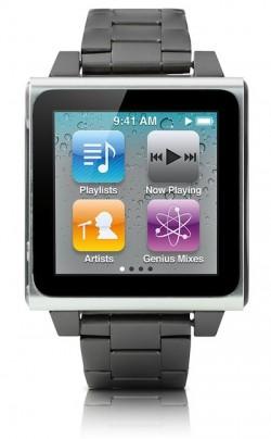 iPod nano klokke