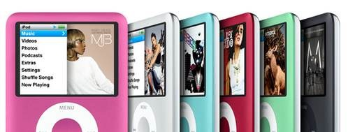 Apple lanserer rosa iPod