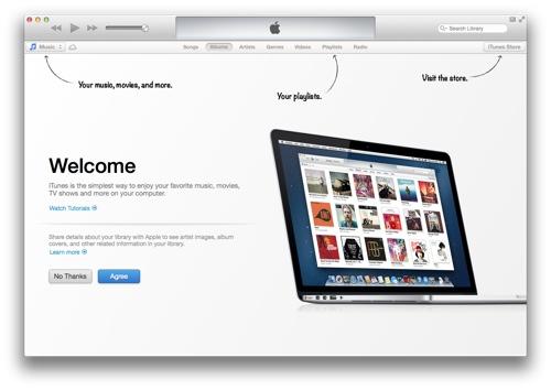 iTunes 11 er her