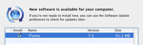 Apple oppdaterer iTunes