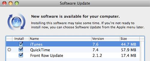 Programvareoppdatering