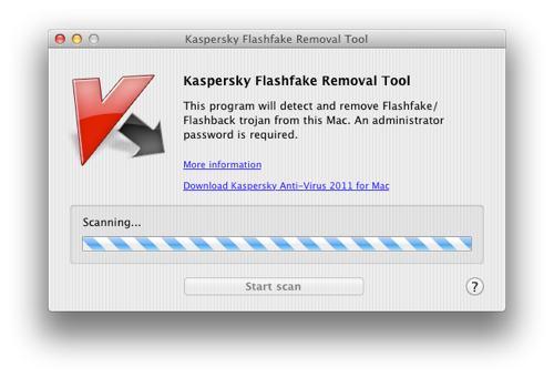 Kasparsky fjerner Flashback gratis