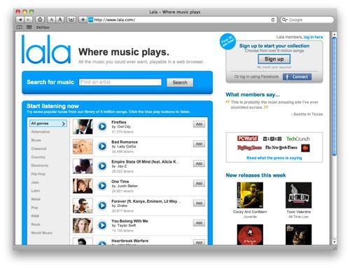 Apple kjøper musikk tjeneste