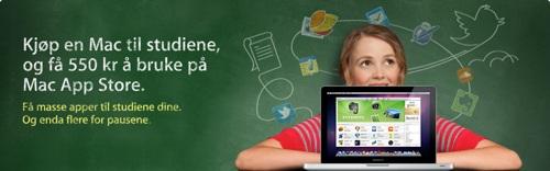 Apple med Back To School-tilbud