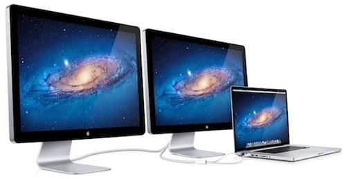 Apple avslører ny Thunderbolt Cinema Display
