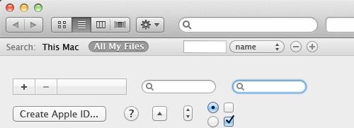 Mac OS X Lion UI Kit