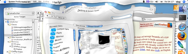 Skjermsparer til Mac OS X