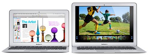 MacBook Air oppdatert
