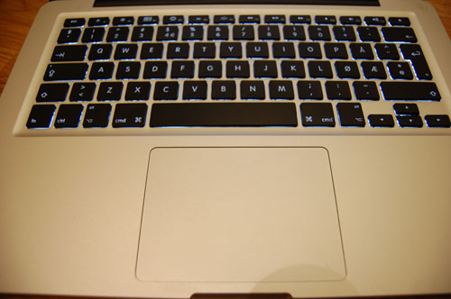 MacBook Alu tastatur