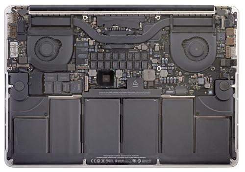 MacBook Pro Retina i deler