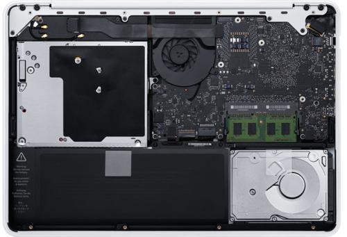 Bunnen på ny MacBook Unibody