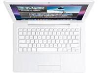 MacBook hvit oppdateres