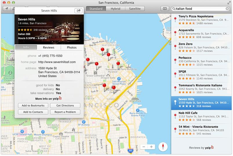 Apple introduserer OS X Mavericks