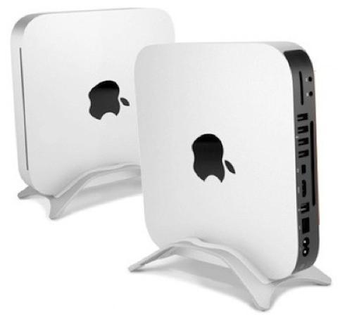 NuStand setter Mac mini vertikalt