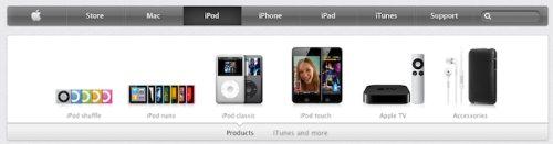 Nytt design på Apple.com