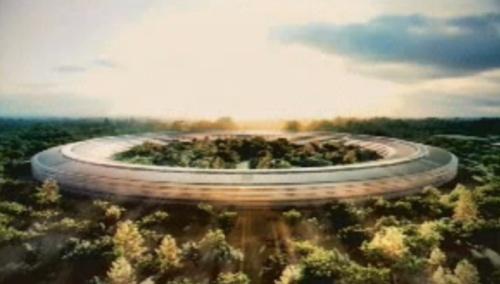 Apple vil bygge «romskip» hovedkvarter