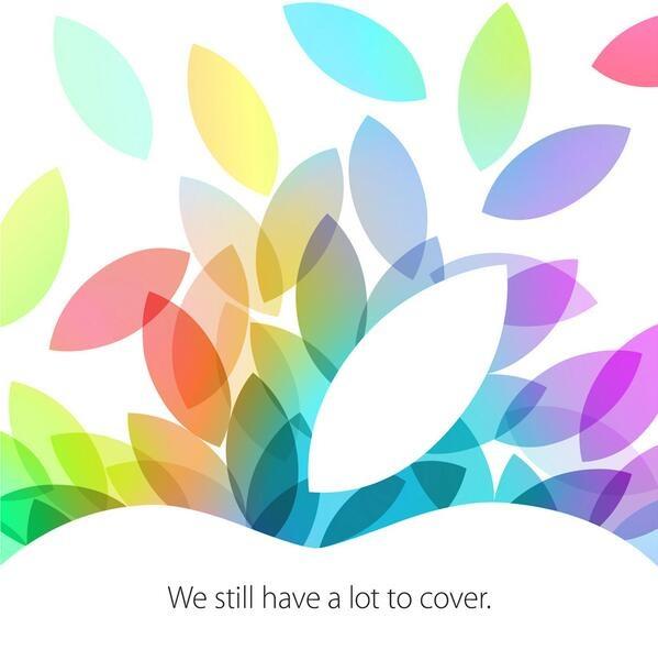 Apple inviterer