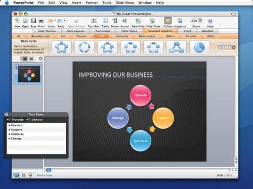 Microsoft Office 2008 prøveversjon