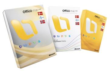 Office 2008 på norsk