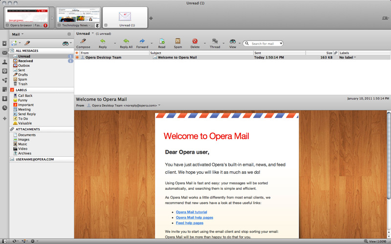 Opera Mac App Store