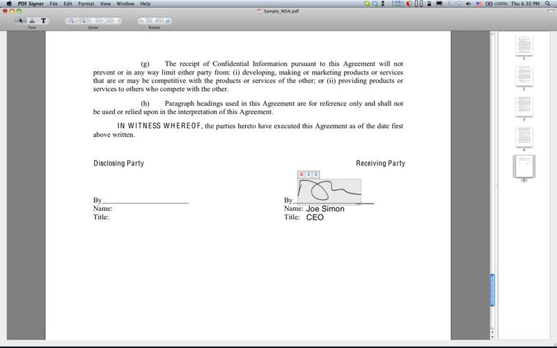 Signer PDFer enkelt med PDF Signer