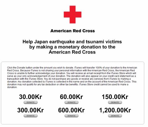 Doner til japan