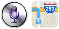 Siri og kart integreres i OS X 10.9