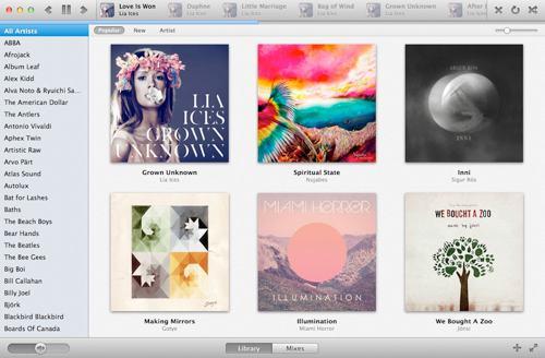Sonora utfordrer iTunes
