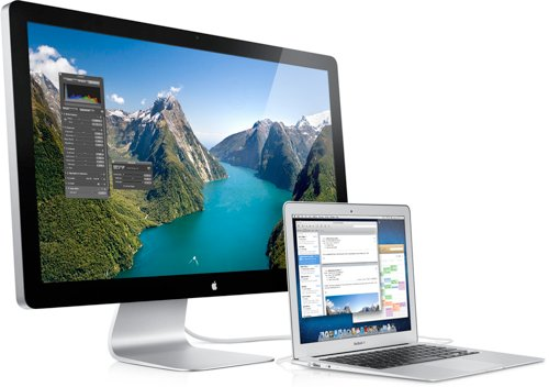 Apple lanserer Thunderbolt Display