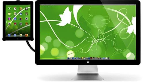iMac + iPad = sant med HoverBar