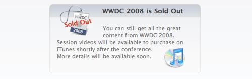 WWDC Utsolgt